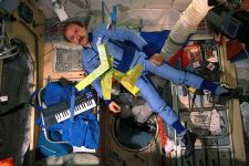 Cosmonaut Alexander Polischuk and  the Cosmic Dancer